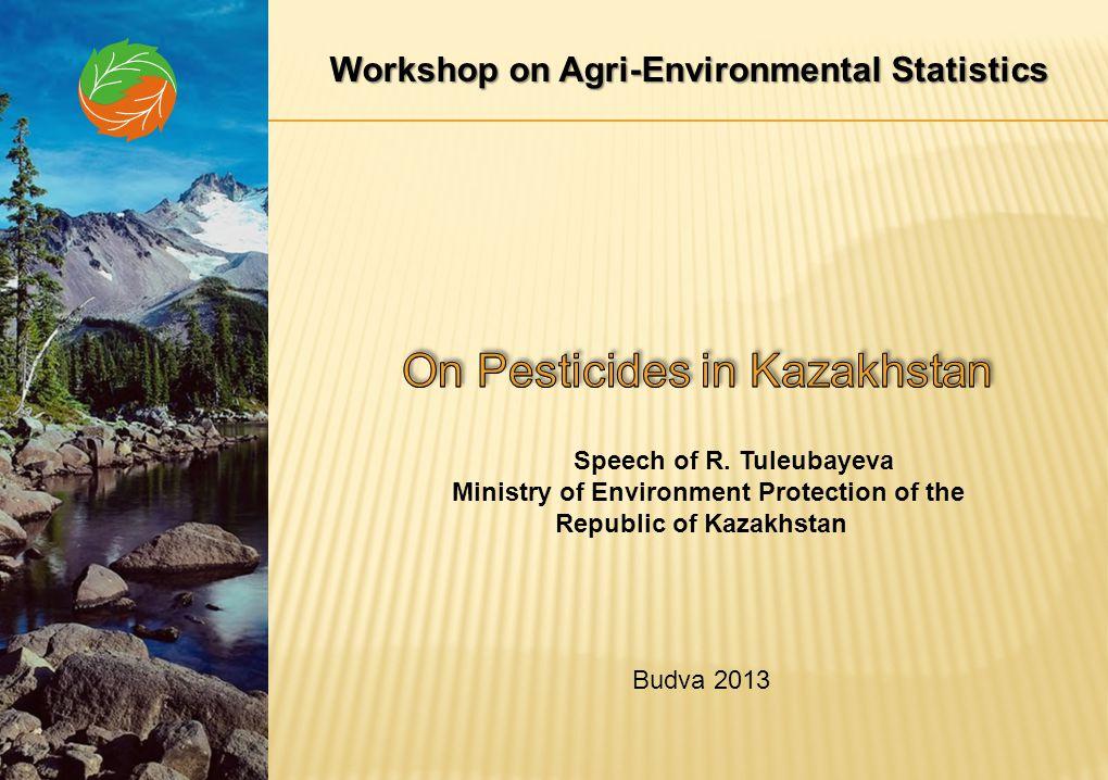 Amounts of Pesticides in Kazakhstan