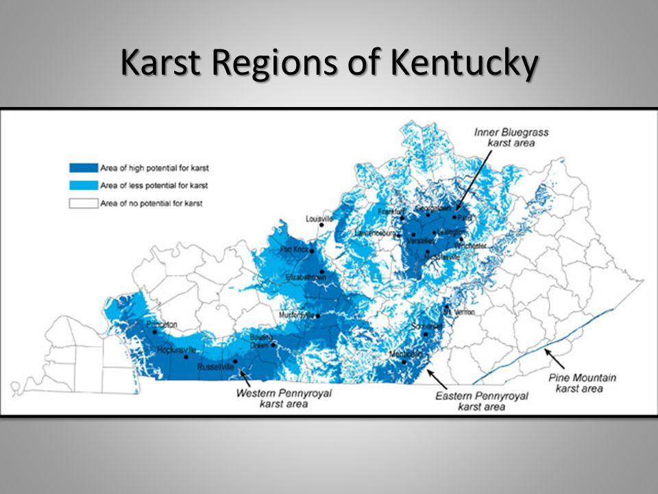 Karst Regions of Kentucky