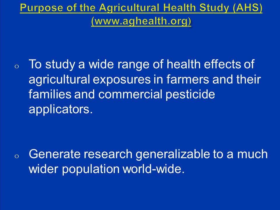 GM ug/L in urine Algorithm Exposure Score (1- 10-15) (n=42, MCPA applicators Pesticide Exposure Assessment Study) Coble J.