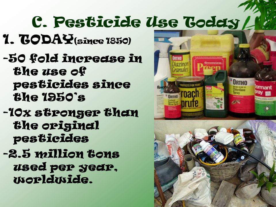  Between 1972-2000, EPA banned or restricted 56 active pesticide ingredients in U.S.