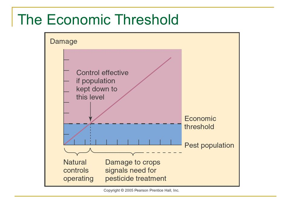 The Economic Threshold