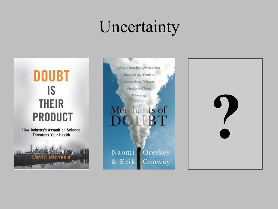 Uncertainty ?