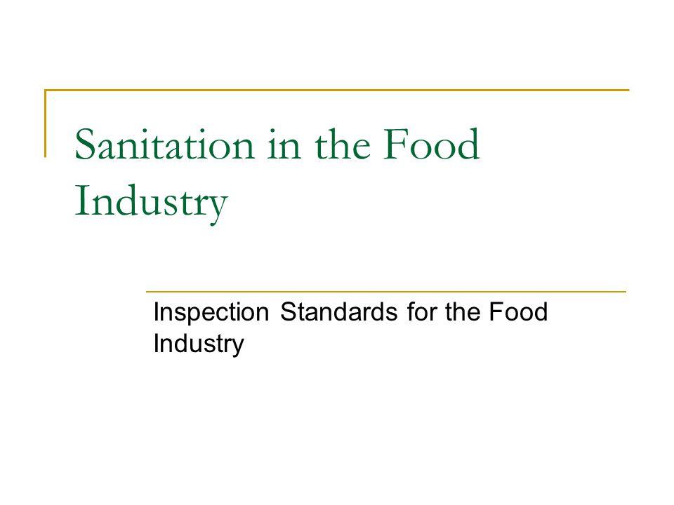 Environmental Protection Agency (EPA) Involves environmental regulations affecting food sanitation.