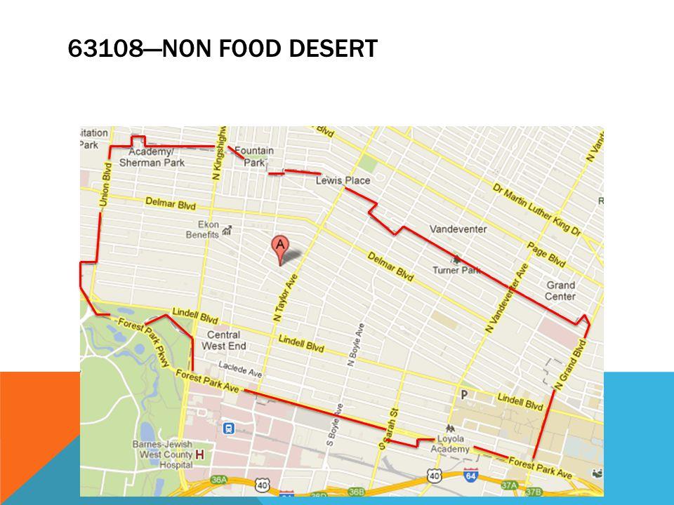 63108—NON FOOD DESERT