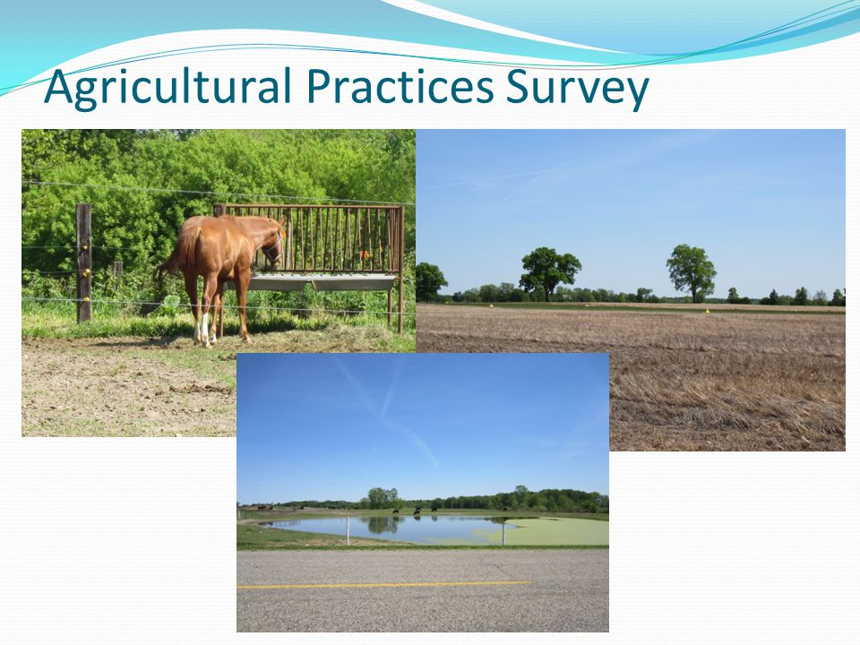 Agricultural Practices Survey