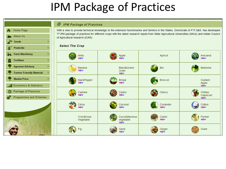 IPM Package of Practices