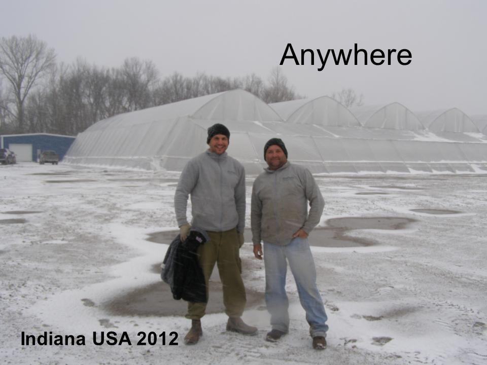 Indiana USA 2012 Anywhere