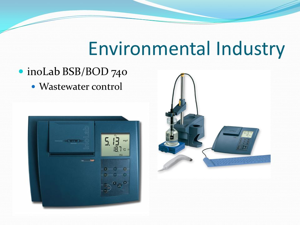 Environmental Industry inoLab BSB/BOD 740 Wastewater control