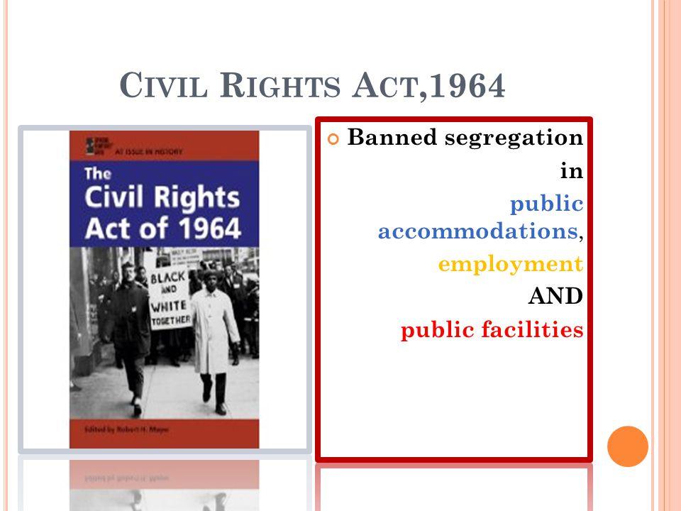 C IVIL R IGHTS A CT,1964