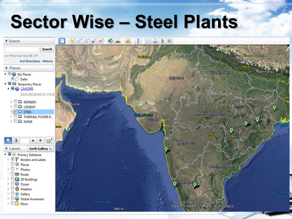 Sector Wise – Steel Plants