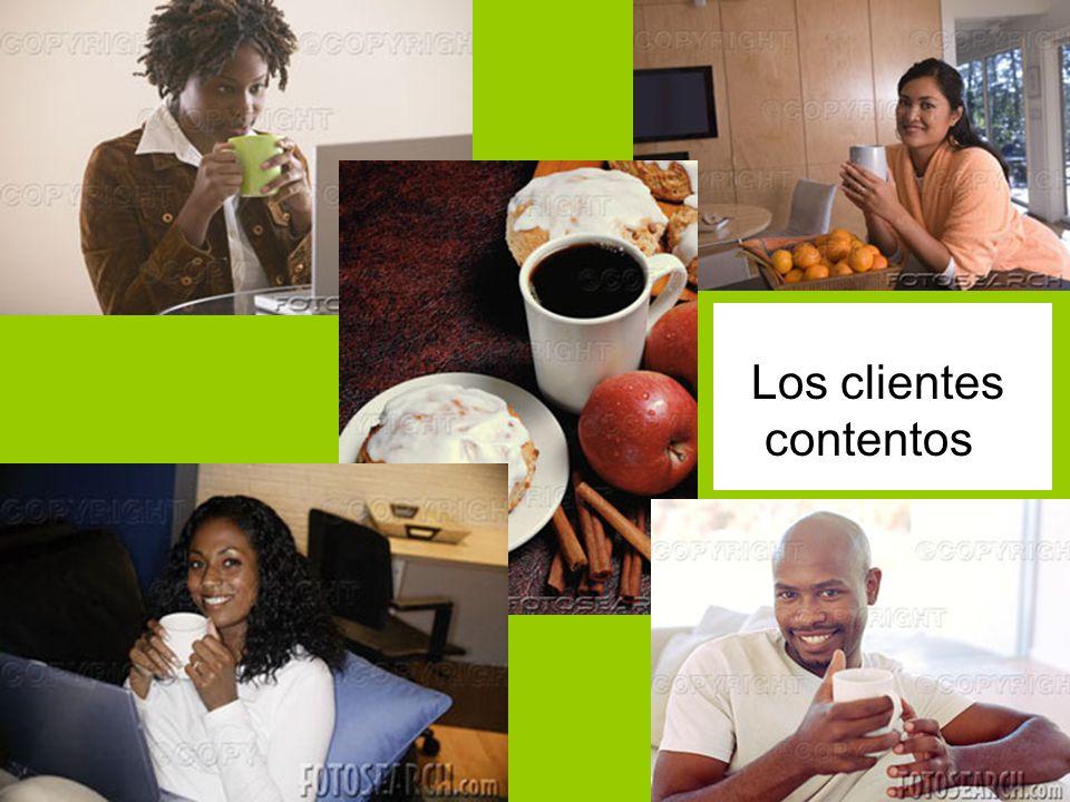 Los clientes contentos