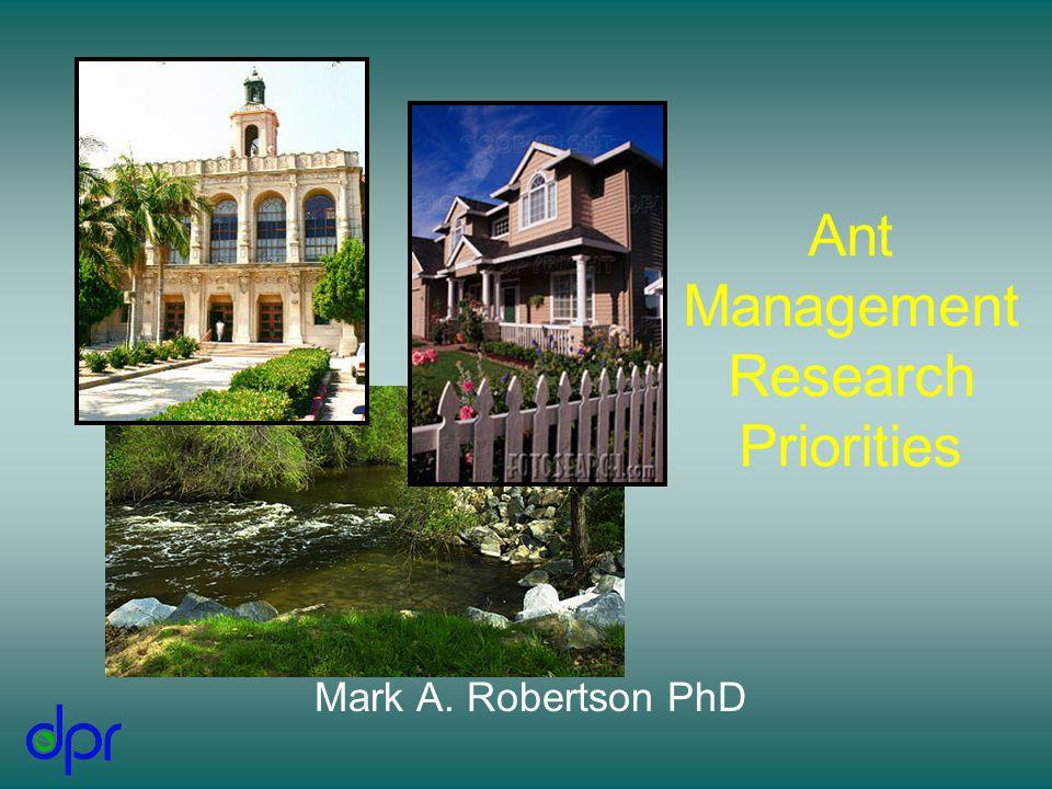 Ultimate Goals Pest Management RiskEconomyEfficacy