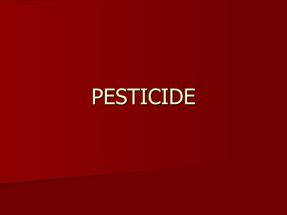 3 PESTICIDE NAMES A) Chemical names A) Chemical names The systematic Name of a Chemical Compound (International Union of Pure and Applied Chemistry) The systematic Name of a Chemical Compound (International Union of Pure and Applied Chemistry) For example: 3,5,6-trichloro-2- pyridinyloxyacetic acid..