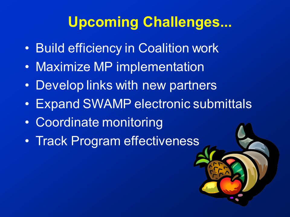 Upcoming Challenges...