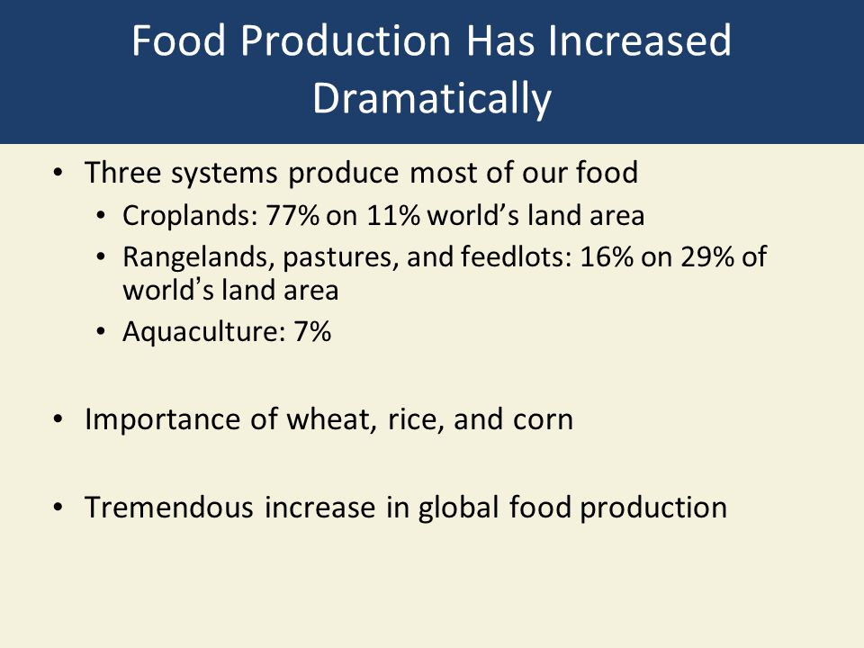 Industrialized Crop Production Relies on High-Input Monocultures Industrialized agriculture, high-input agriculture Plantation agriculture: cash crops Primarily in less-developed countries Tropical/sub-tropical