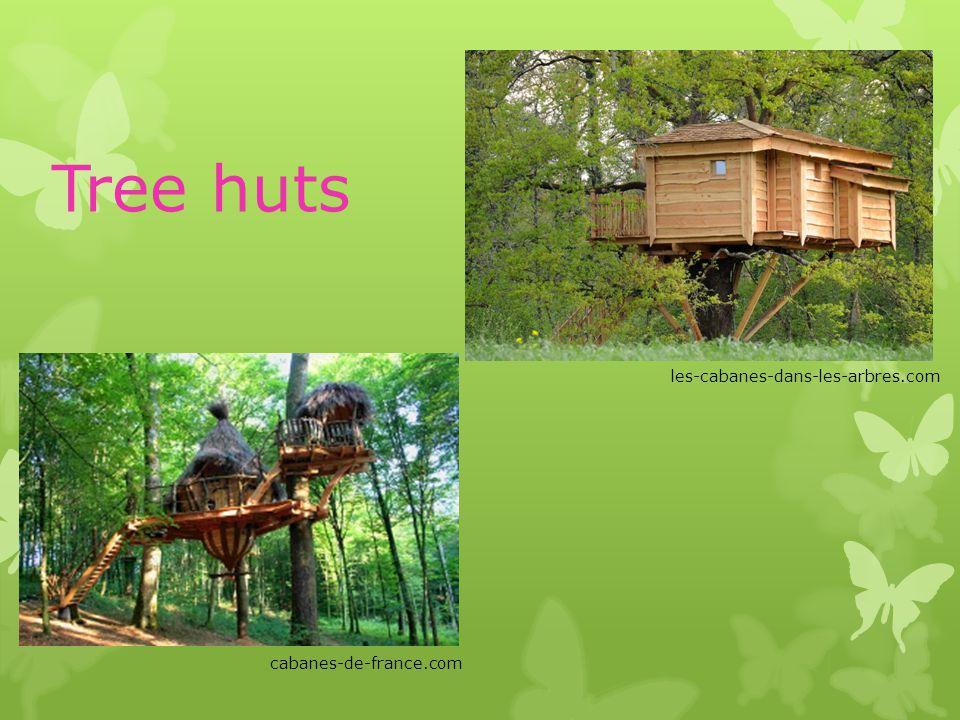 Tree huts cabanes-de-france.com les-cabanes-dans-les-arbres.com