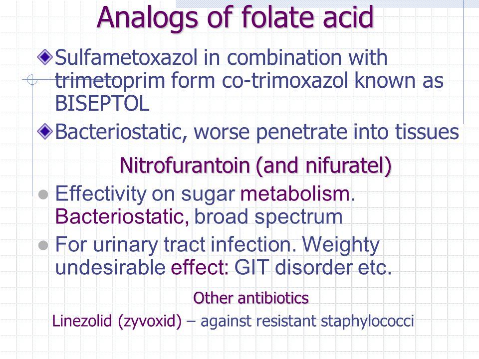 Nitroimidazols For anaerobes, for protozoas (T.