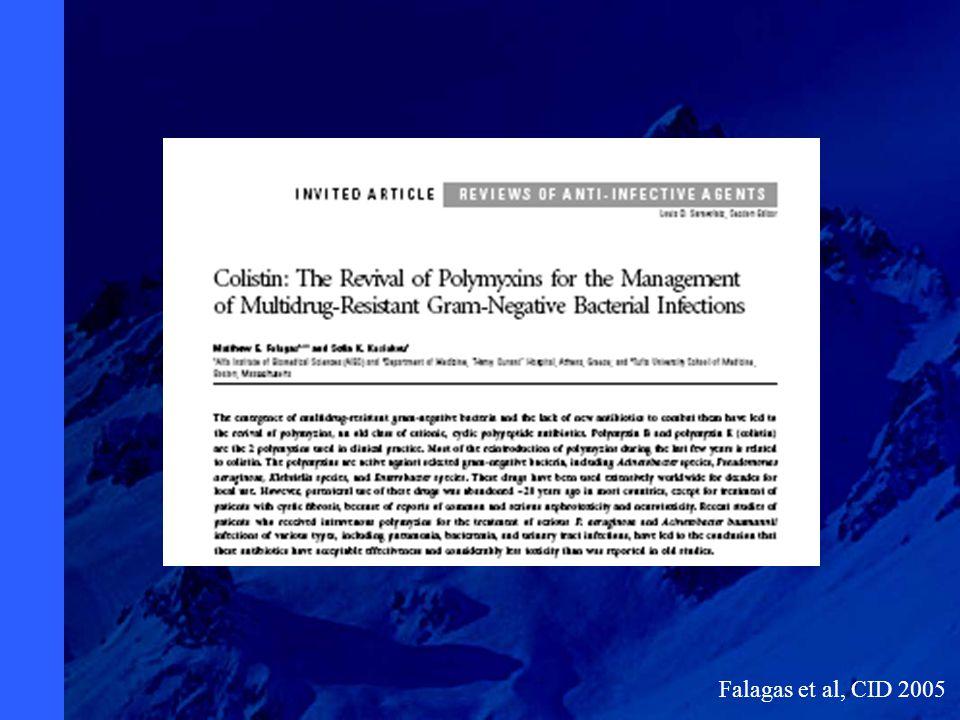 Falagas et al, CID 2005