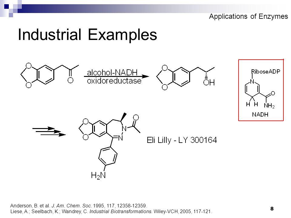 8 8 Industrial Examples Anderson, B. et al. J. Am.