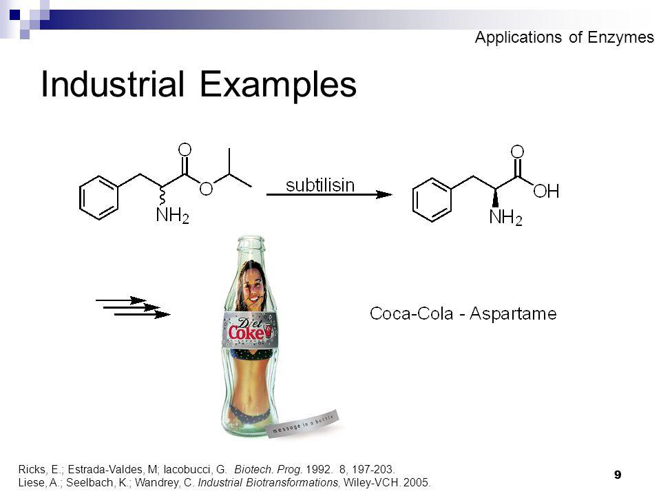 9 9 Industrial Examples Ricks, E.; Estrada-Valdes, M; Iacobucci, G.