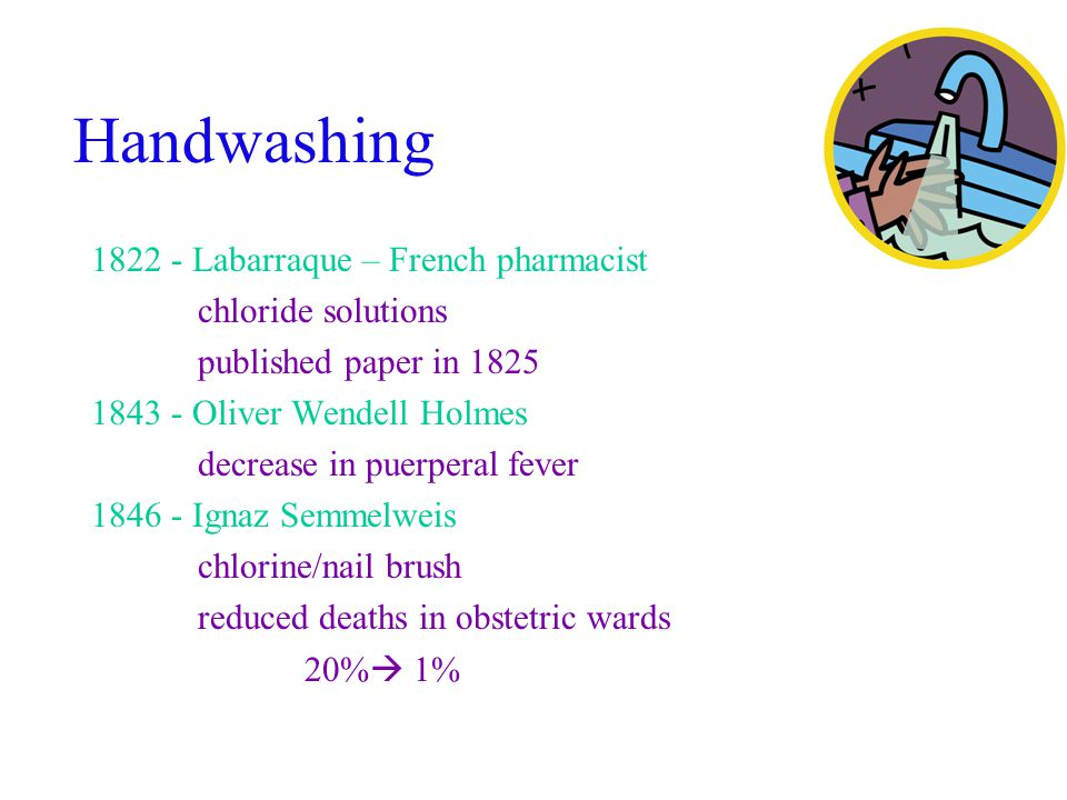 Hand hygiene products Product Antimicrobial Activity Sustained Activity Potential for Resistance Skin Shedding Soap + none +++ Antibacterial* Intermittent ++ Continuous +++ Alcohol +++ none + Adapted from CID 1999;29:1287-94 * triclosan, hexachlorophene, chlorhexidine gluconate