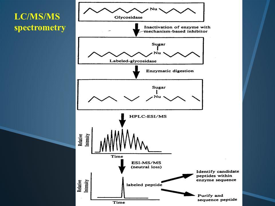 LC/MS/MS spectrometry
