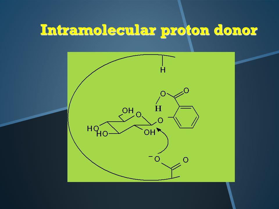 Intramolecular proton donor