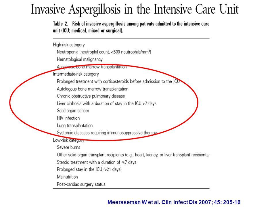 Meersseman W et al. Clin Infect Dis 2007; 45: 205-16