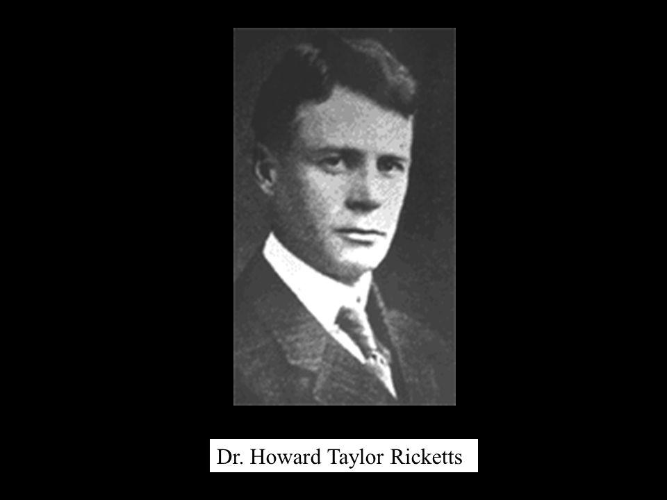 Dr. Howard Taylor Ricketts