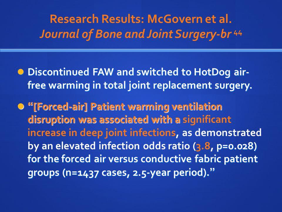 Research Results: McGovern et al.