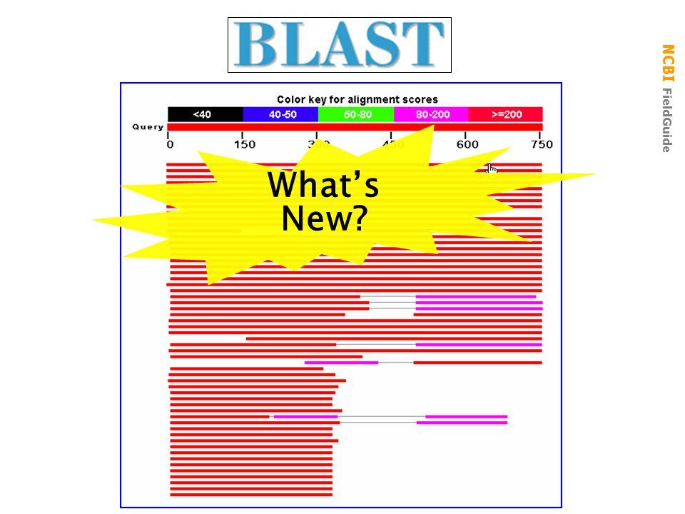 NCBI FieldGuide What's New?