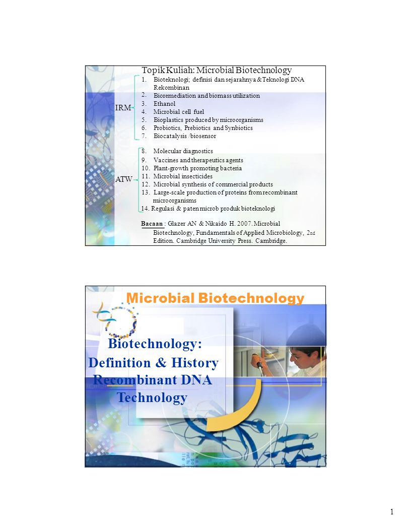 22 Bovine Somatotropin Applications of Recombinant DNA Recombinant DNA is used to: Study the biochemical properties or genetic pathways of that protein Mass produce a particular protein (e.g., insulin) Sometimes conventional methods are still the better choice Textile industry can produce the dye indigo in E.