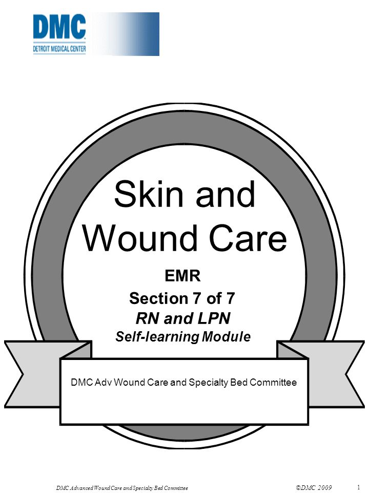 DMC Advanced Wound Care and Specialty Bed Committee ©DMC 2009 12 Nutrition Consult is entered for all patients at risk for or with a pressure ulcer This may not generate a consult APN / CWOCN.