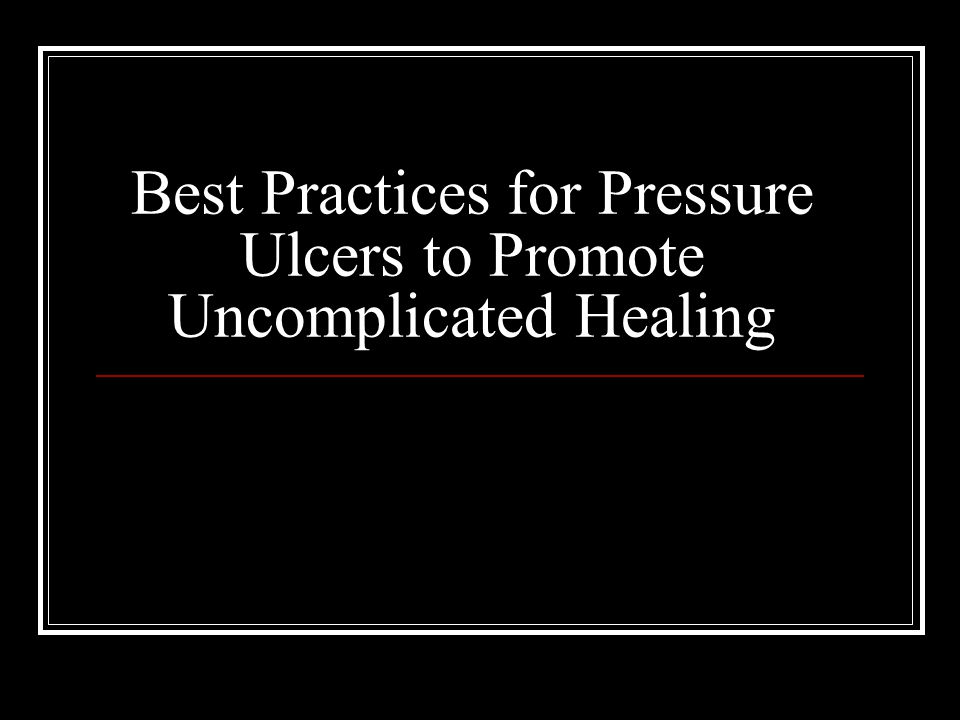 Introduction Pressure ulcers are major health problems in the U.S.