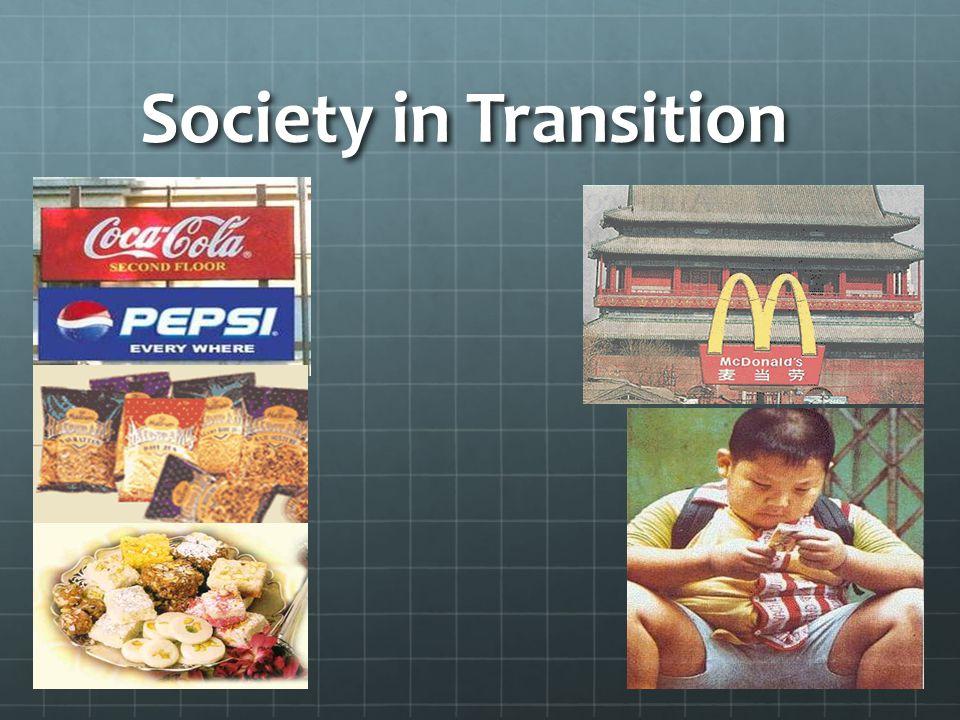 Society in Transition
