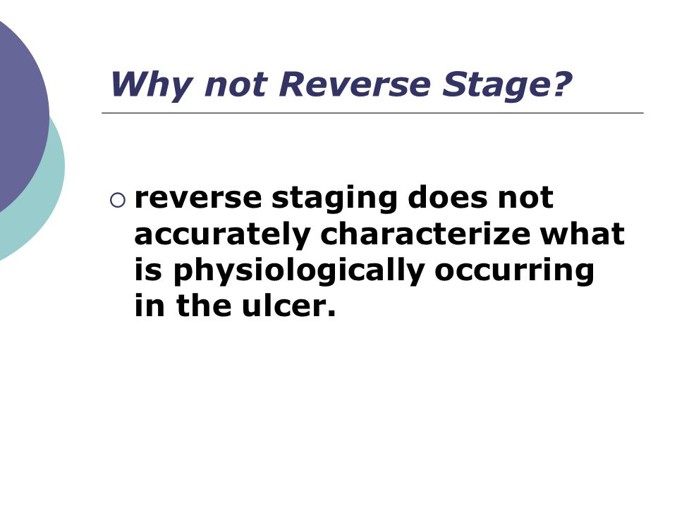 Why not Reverse Stage.