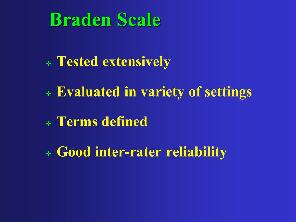 Risk Assessment Tools ; Norton Scale ; Braden Scale ; Others