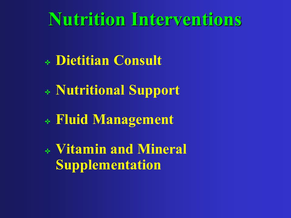3/13/20036 Role of Nutrition ; Nutrition and hydration ; Critical for tissue integrity and wound healing ; Research shows a strong relationship between pressure ulcers and nutritional status 9-14 ; Poor nutritional status is a major risk factor for pressure ulcer development 11 ; Weight loss is associated with poor wound healing 9-11,13,14,17