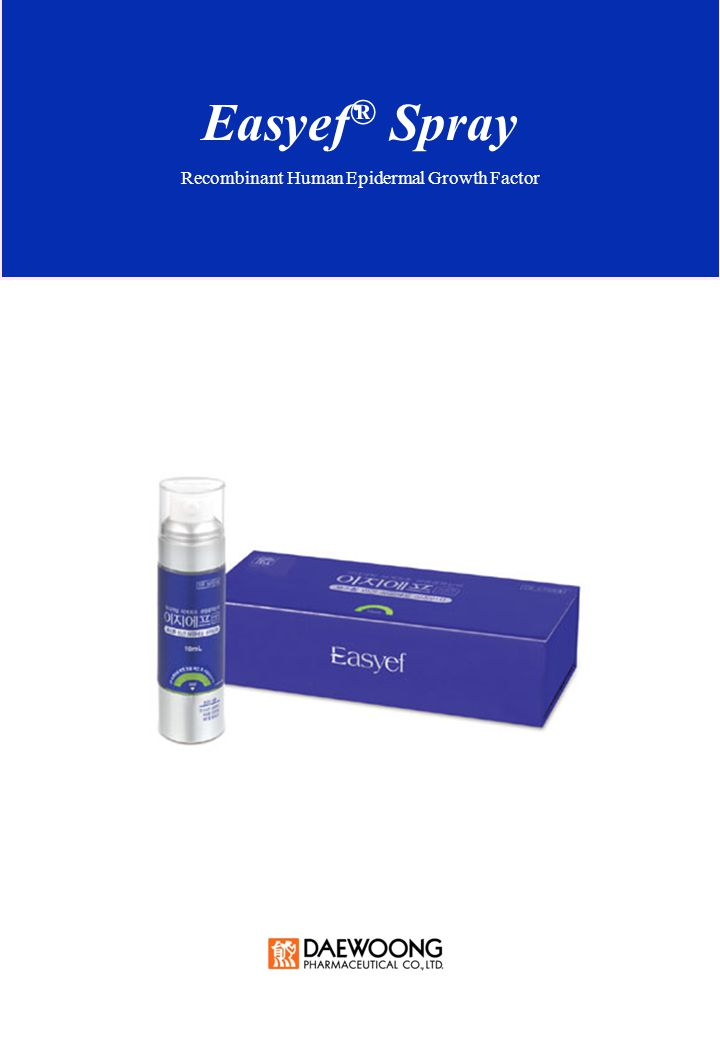 Easyef ® Spray Recombinant Human Epidermal Growth Factor