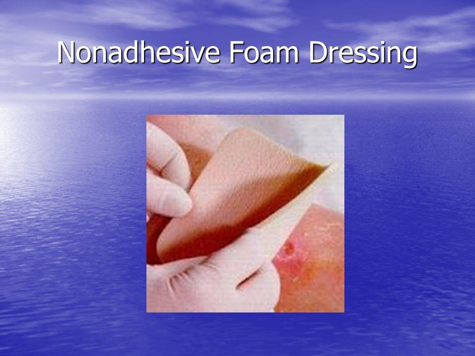 Nonadhesive Foam Dressing