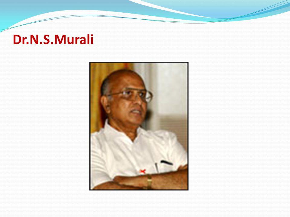 Dr.N.S.Murali