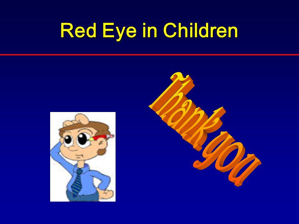 Red Eye in Children