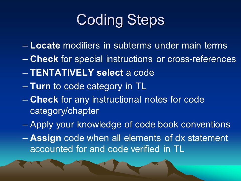Coding Guidelines For Skin chapter in both ICD-9 and ICD-10 –Only Pressure ulcers –Several identical –Some different for ICD-10-CM Due to more specific codes available Therefore, coder will apply general coding guidelines and codebook conventions when coding other skin conditions