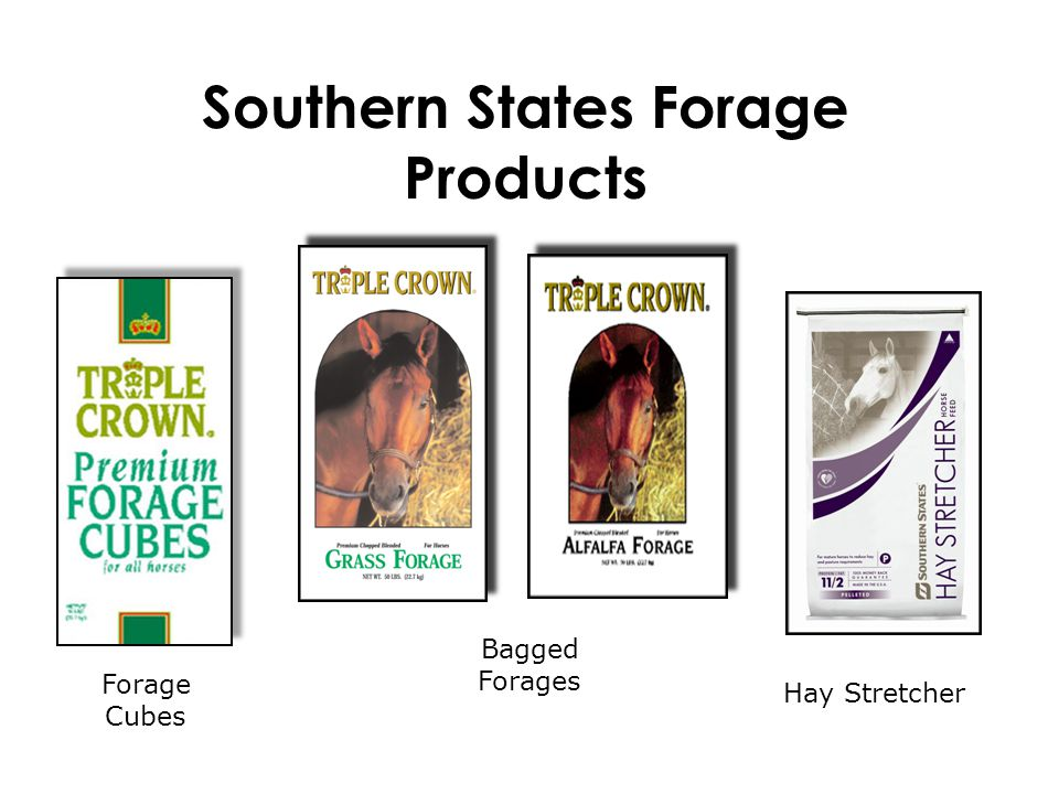 Southern States Forage Products Hay Stretcher Bagged Forages Forage Cubes