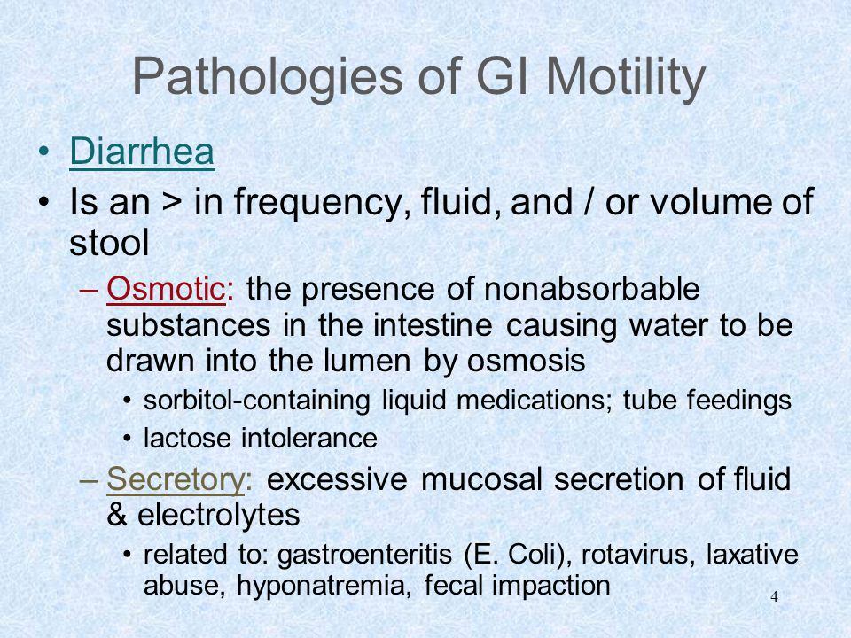 15 Disorders of GI Bleeding Results Shock will ensue if massive (25% EBL within hours) bleeding occurs Metabolic acidosis, prerenal failure, bowel infarction will occur < coronary & cerebral blood flow Death –See McCance, Figure 38-1, p.