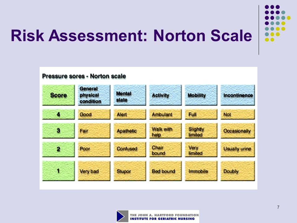 7 Risk Assessment: Norton Scale