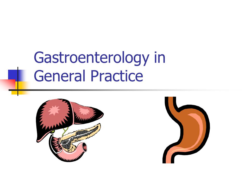 Gastroenterology in General Practice