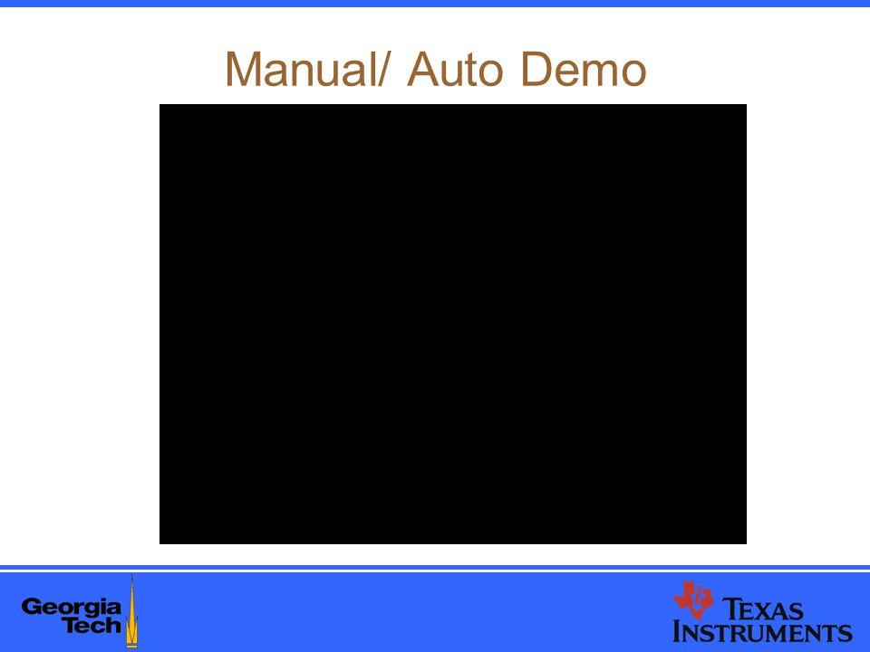 Manual/ Auto Demo