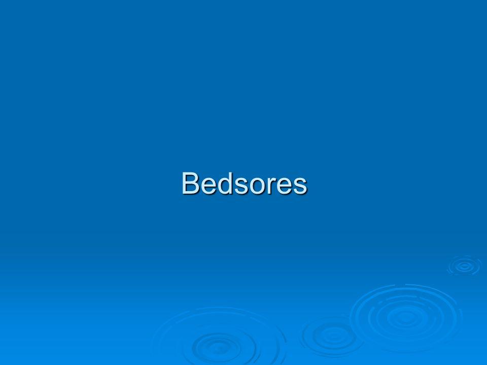 Bedsores