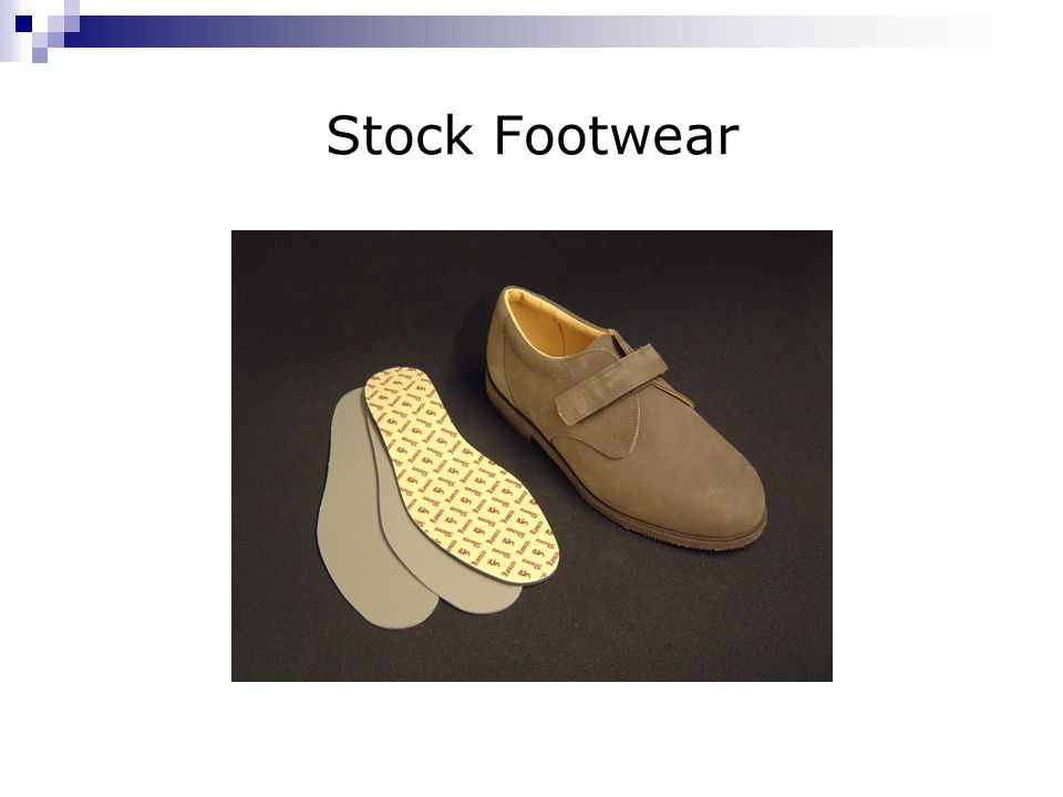 Stock Footwear